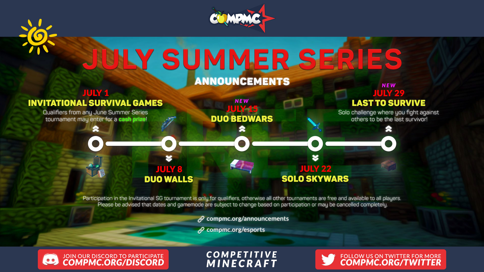 Summer Series: Duo Bedwars Cover Image