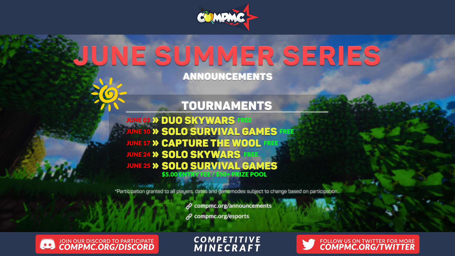 Summer Series: Survival Games Solos Cover Image
